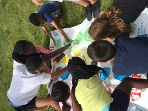 Olympics Camp Messy Twister