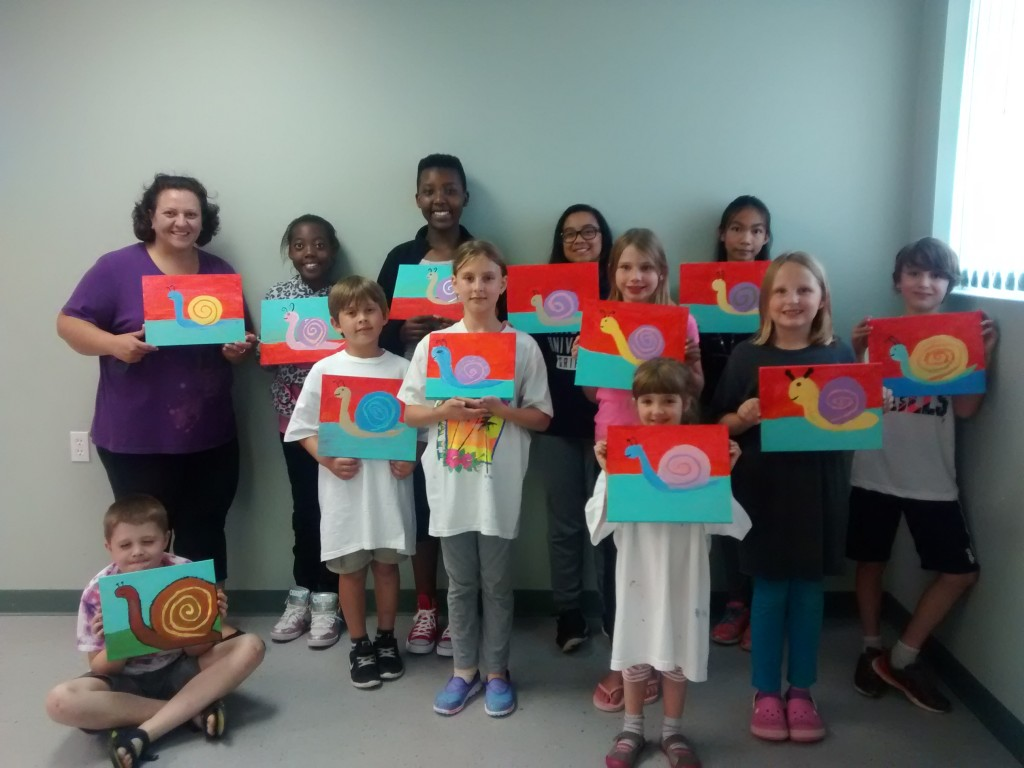 Altar Server Paint Night